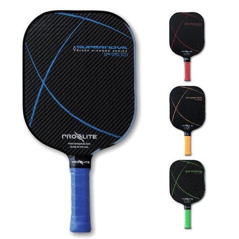 SuperNova Pro Black Graphite Paddle [product _type] Pro Lite - Ultra Pickleball - The Pickleball Paddle MegaStore