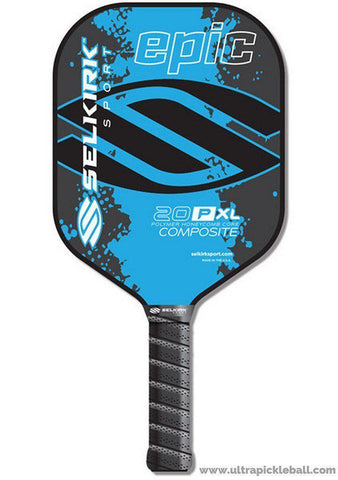 Selkirk Sport 20P XL Epic Polymer Honeycomb Core Composite Pickleball Paddle Extra Long Body [product _type] Selkirk Sport - Ultra Pickleball - The Pickleball Paddle MegaStore