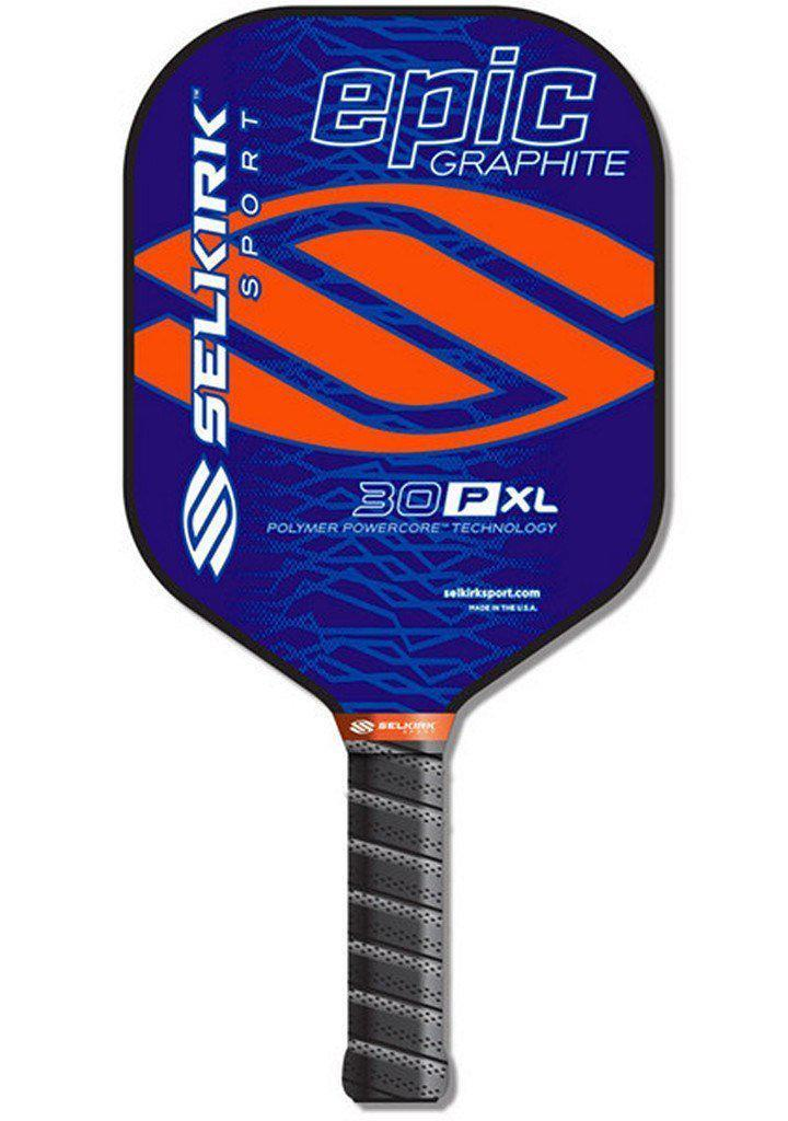 pickleball selkirk paddle epic 30p polymer composite xl