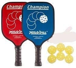 Champion Pickleball Bundle - 2 Graphite Paddles/6 Balls [product _type] Pickleball Inc - Ultra Pickleball - The Pickleball Paddle MegaStore