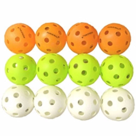 Indoor Super Pickleball Sampler Pack (12 Balls) [product _type] Dura - Ultra Pickleball - The Pickleball Paddle MegaStore