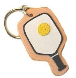 Leather Pickleball Keychain [product _type] Ultra Pickleball - Ultra Pickleball - The Pickleball Paddle MegaStore