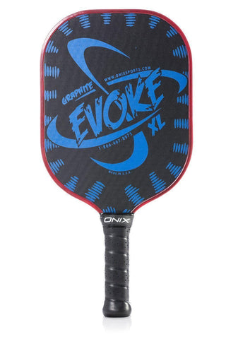 Onix Evoke XL Graphite Pickleball Paddle [product _type] Onix - Ultra Pickleball - The Pickleball Paddle MegaStore