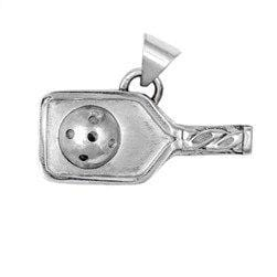 Pickleball Paddle Pendant Sterling Silver [product _type] Ultra Pickleball - Ultra Pickleball - The Pickleball Paddle MegaStore