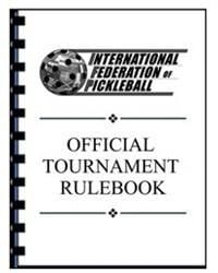 Pickleball Rulebook - Official Tournament Book [product _type] Ultra Pickleball - Ultra Pickleball - The Pickleball Paddle MegaStore