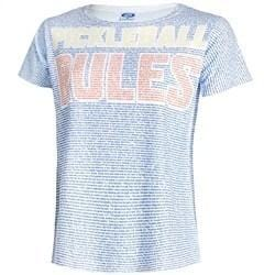 Pickleball Rules Shirt-Women's [product _type] 0-0-2 - Ultra Pickleball - The Pickleball Paddle MegaStore