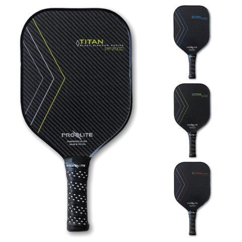 Titan Pro Black Diamond Series Graphite Paddle [product _type] Pro Lite - Ultra Pickleball - The Pickleball Paddle MegaStore