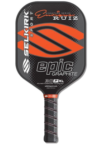 Selkirk Sport 30P XL Enrique Signature Epic Polymer Graphite Paddle [product _type] Selkirk Sport - Ultra Pickleball - The Pickleball Paddle MegaStore