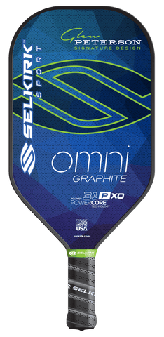 Selkirk Omni 31P XO Graphite Polymer Glen Peterson Pickleball Paddle -  - Pickleball paddle - Selkirk Sport - Ultra Pickleball