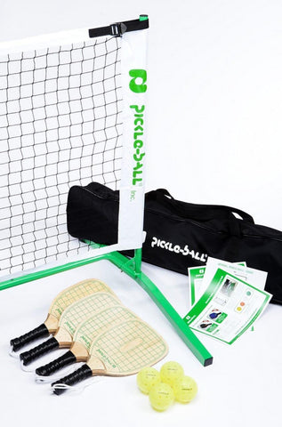 Tournament Swinger Pickleball Set 3.0 w/Paddles, Net & Pickleballs (Taiwan) [product _type] Pickleball Inc - Ultra Pickleball - The Pickleball Paddle MegaStore
