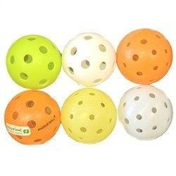 Variety of Pickleballs (6 Balls) [product _type] Ultra Pickleball - Ultra Pickleball - The Pickleball Paddle MegaStore