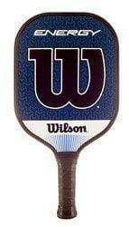 Wilson Energy Graphite Pickleball Paddle Blue/White [product _type] Wilson - Ultra Pickleball - The Pickleball Paddle MegaStore