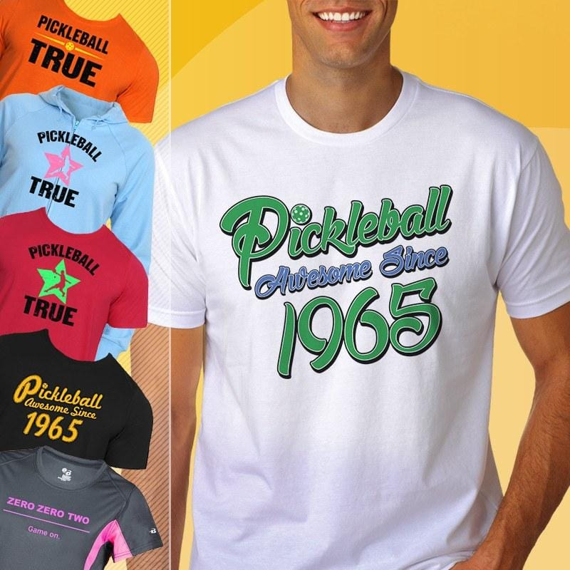 Pickleball Shirts & Clothing
