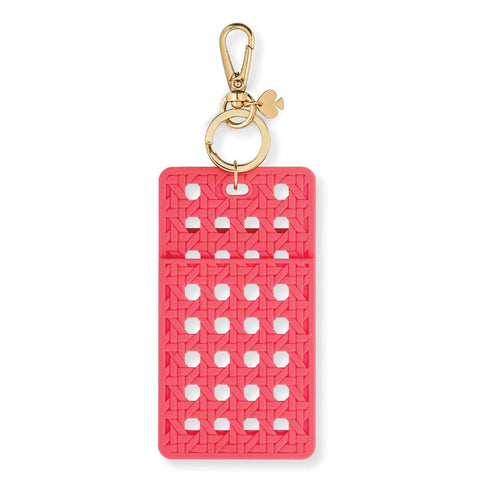 Kate Spade New York ID Holder - Coral Caning