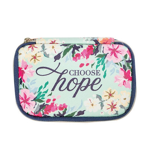 Mary Square Pill Case - Choose Hope