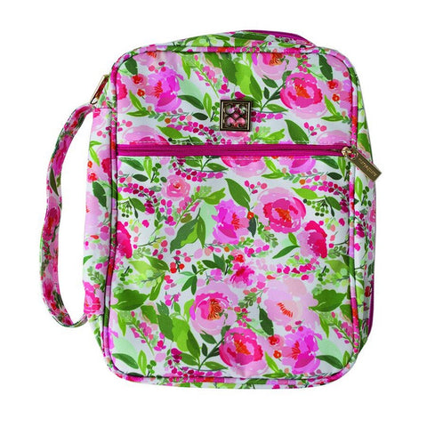 Mary Square Bible Cover Charlotte Floral