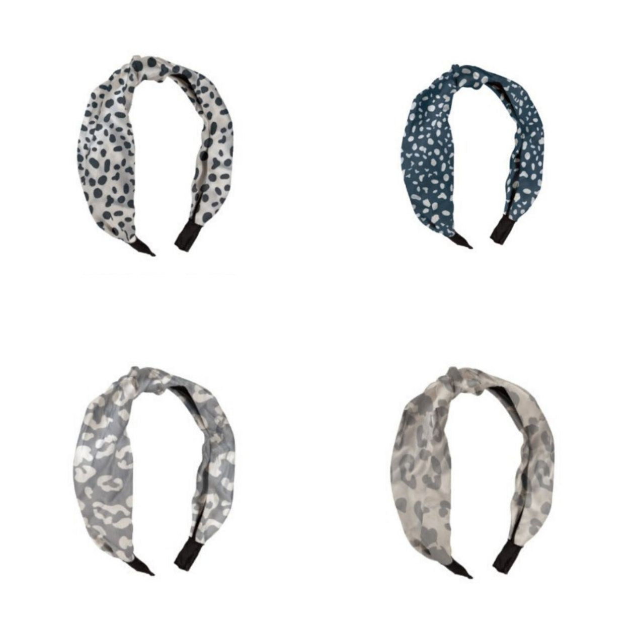 Mary Square Top Knot Hair Band Wide Boho Headband For Women And Girls Timely Buys