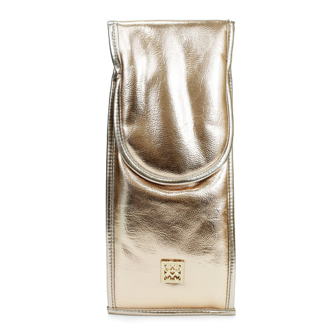 Mary Square Rose Gold Flat Iron Bag