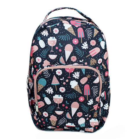 Mary Square Backpack - Ice Cream Dream