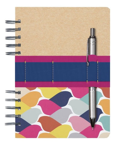 C.R. Gibson Go Girl Journal- Flock of Color