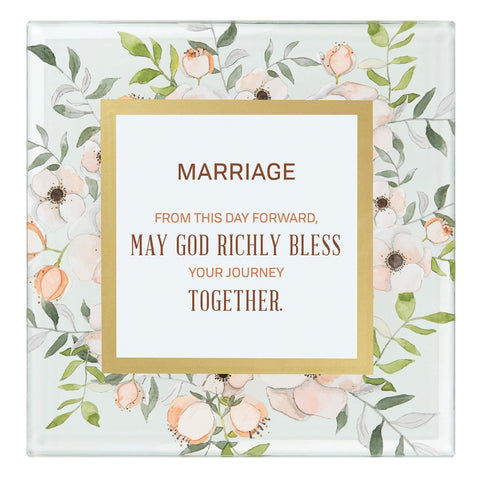 Heartfelt Lovelea Essence Collection Framed Verses - Marriage