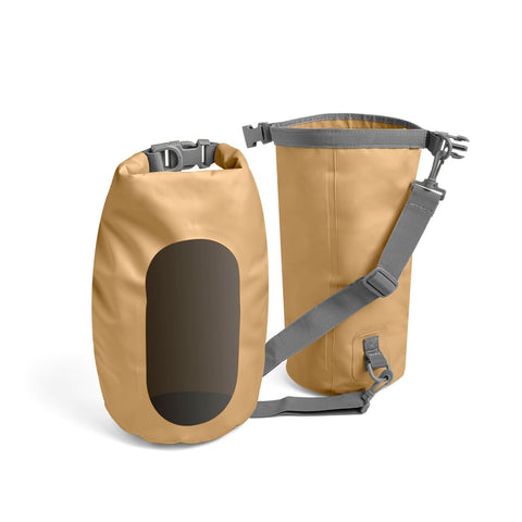 NOD Products Fully Waterproof Lightweight 5L Dry Bag - Gold