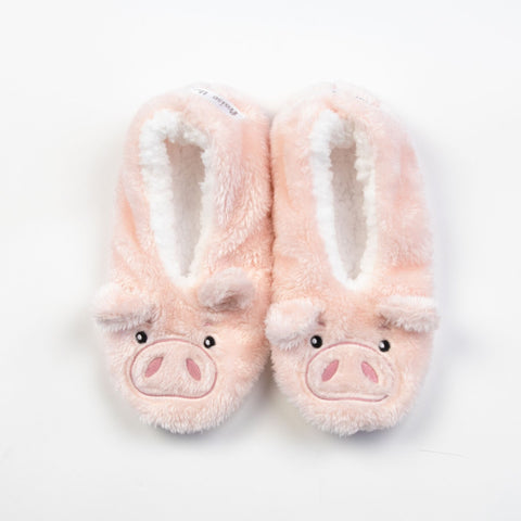 "Faceplant Dreams Slipper Footsies - ""Praise the Lard"""