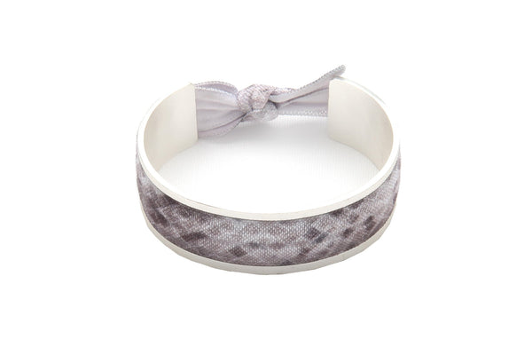 Banded Hair Tie Bracelet Silver Snake with 3 Hair Ties – Timely Buys b13ed4467eb