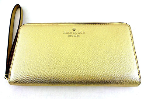 Kate Spade New York Wallet Case for Universal/Smartphones - Saffiano Gold