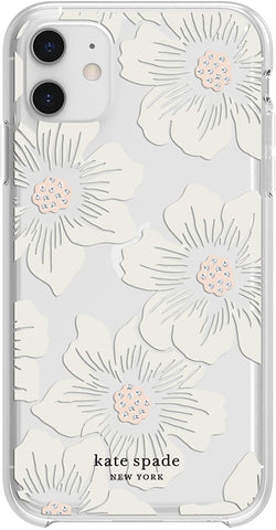 Incipio for Kate Spade New York Compatible with iPhone 11 from Apple – Floral Clear