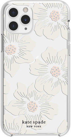 Incipio for Kate Spade New York Compatible with iPhone 11 Pro from Apple – Floral Clear