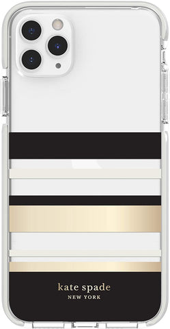 Incipio for Kate Spade Phone Case Compatible with iPhone 11 Pro Max – Park Stripe