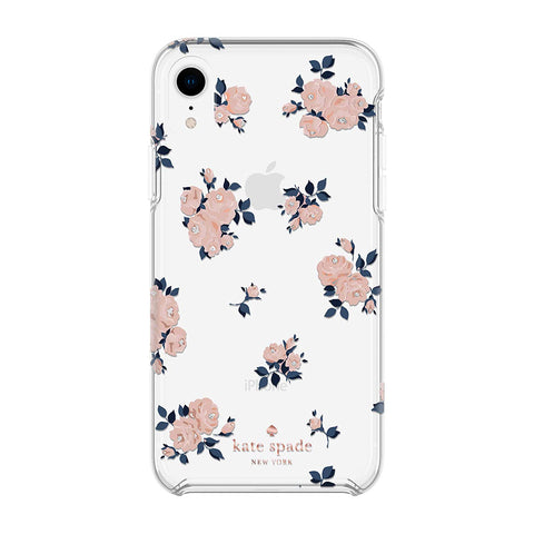 Kate Spade New York Phone Case Compatible with iPhone XR – Happy Rose