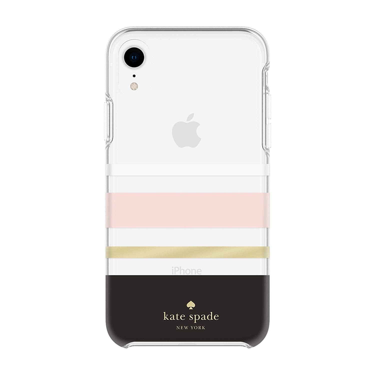super popular a98af 407f7 Kate Spade New York Phone Case Compatible with iPhone XR – Charlotte Stripe