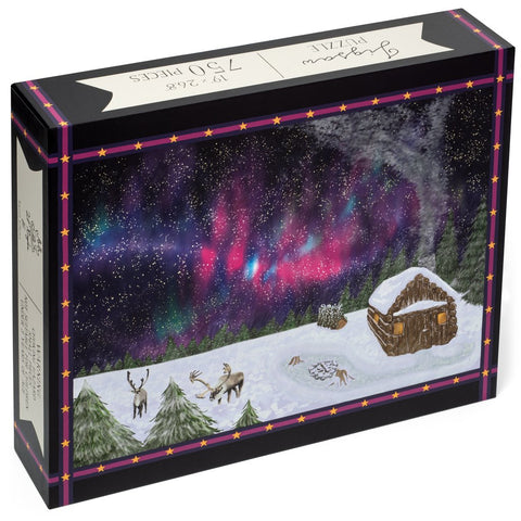 Karen Adams 750 Piece Jigsaw Puzzle - Winter Nights