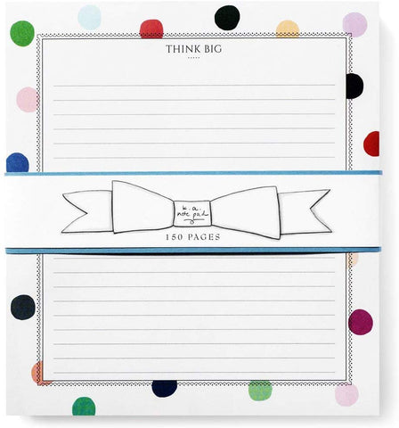 Karen Adams Notepad - Think Big