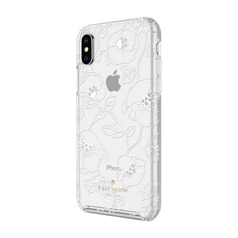 Kate Spade New York iPhone X Hardshell Case - Dreamy Floral White