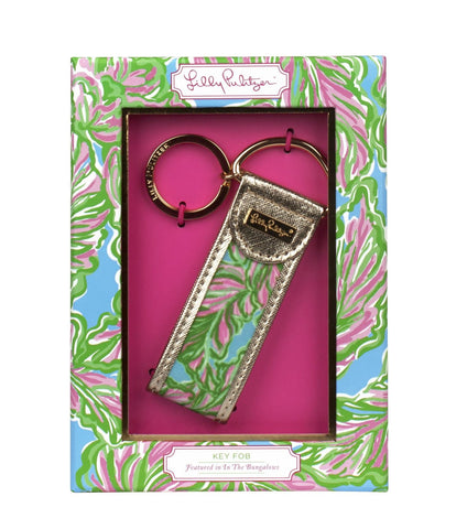 Lilly Pulitzer Key FOB In The Bungalows