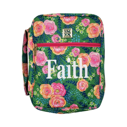 Mary Square Personalized Bible Cover - Madison Floral