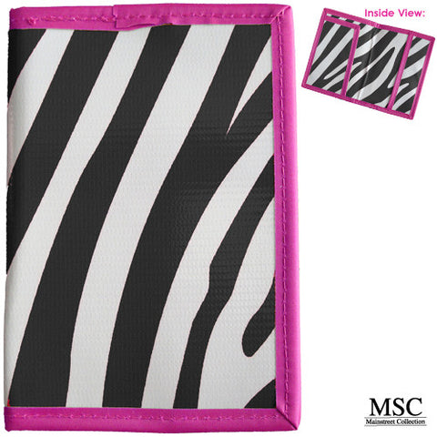 Mainstreet Zebra Hot Pink Passport Cover