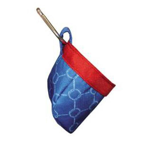 Mainstreet Collections Knots Blue & Red Nautical Pet Treat Bags