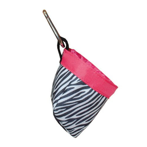 Mainstreet Collections Black, White & Hot Pink Zebra Print Pet Treat Bags