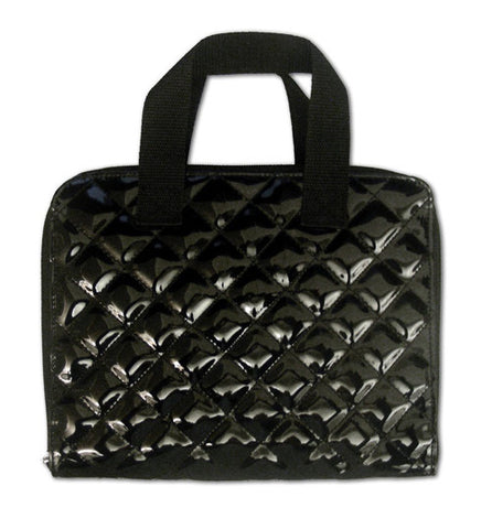Miamica Black Quilted iPad Carrying Case