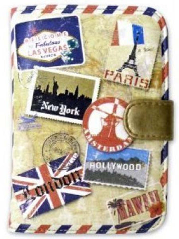 Miamica Passport Case- Vintage Print