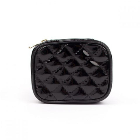 Miamica Black Quilted Pill Case Organizer