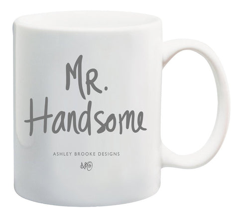 Ashley Brooke Designs Mr. Handsome Coffee Mug