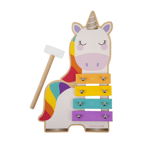 Sunnylife Mini Xylophone - Unicorn