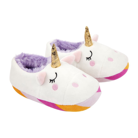 SunnyLIFE Kid's Happy Feet Slippers - Unicorn