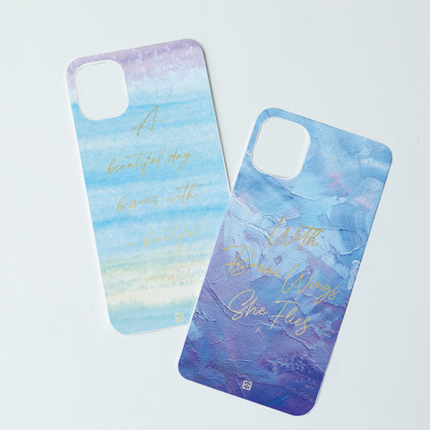 Mary Square Caselift Phone Case Inspirational Insert Kit - iPhone 11 Pro