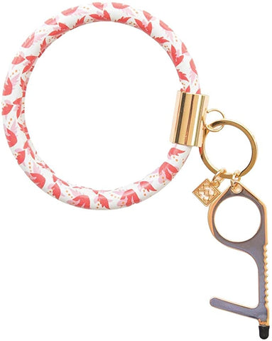 Mary Square Clean Key Bracelet - Perfect Love